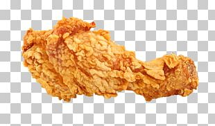 Crispy Fried Chicken KFC Pizza French Fries PNG
