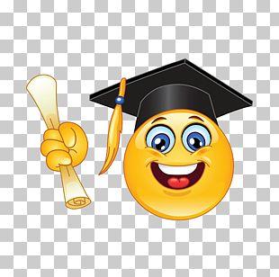 Emoticon Graduation Ceremony Smiley PNG