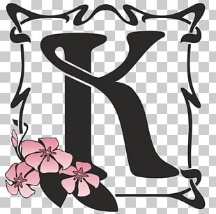 Art Nouveau Letter Zazzle PNG