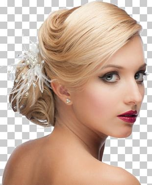Bride Hairdresser Wedding Beauty Parlour Hairstyle PNG