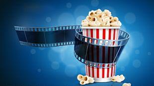 Popcorn Discount Theater Film Cinema PNG
