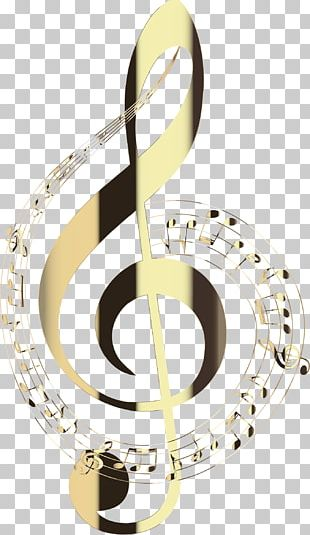 Musical Note Clef Brass Instruments PNG