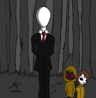 Michael Myers Slenderman Drawing Creepypasta Jeff The Killer PNG