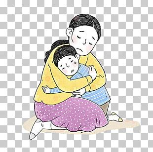 Mother Child Drawing PNG