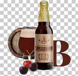 Barley Wine Ale Beer Bottle PNG