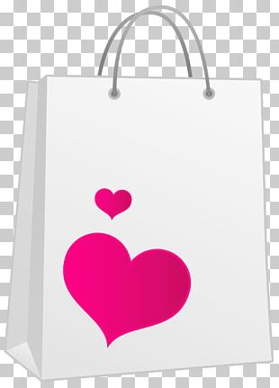Heart Shopping Bag Gift PNG