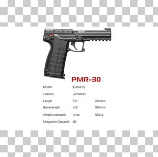 Kel-Tec PMR-30 .22 Winchester Magnum Rimfire Trigger Firearm Gun Barrel PNG