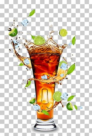 Orange Juice Cocktail Rum And Coke Cola PNG