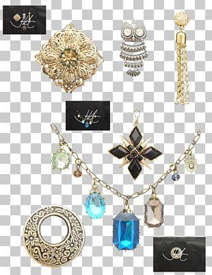 Earring Body Jewellery Necklace Gemstone PNG