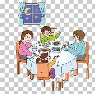 Eating Cartoon Illustration PNG