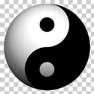 Yin And Yang Symbol Taoism Tao Te Ching Philosophy PNG