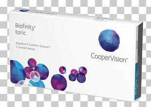 Biofinity Toric Toric Lens Contact Lenses CooperVision Biofinity Biofinity XR Toric PNG