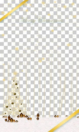 Christmas Card Paper PNG
