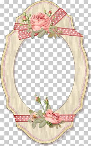 Flower Frames Watercolor Painting PNG