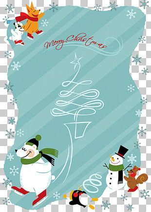 Poster Christmas Illustration PNG