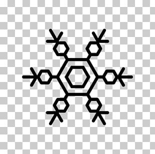 Snowflake Shape Hexagon PNG
