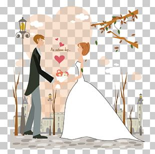 Valentines Day Couple Marriage PNG