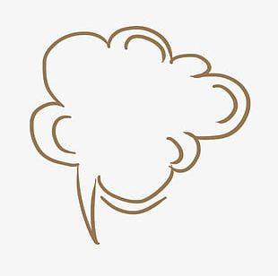 Clouds Think Bubbles PNG
