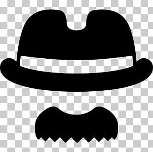 Handlebar Moustache Computer Icons Hat Hair PNG