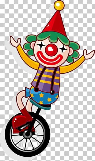 Joker Clown Circus Juggling PNG