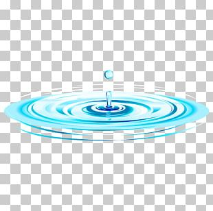 Water Drop Capillary Wave PNG