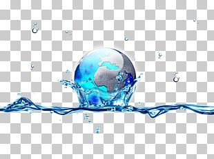 Earth Water Drop PNG