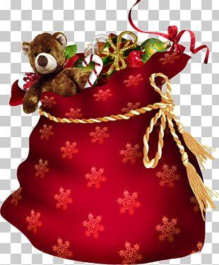 Père Noël Christmas Gift Santa Claus PNG