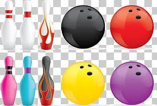 Bowling Pin Ten-pin Bowling Bowling Ball PNG