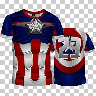 Sports Fan Jersey United States T-shirt PNG