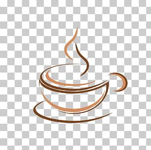 Cafe Coffee Logo Restaurant PNG