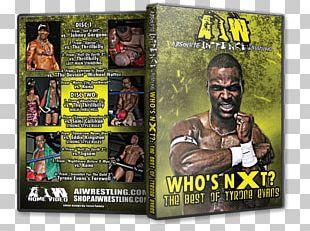 Professional Wrestler Professional Wrestling JLIT DVD Poster PNG