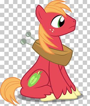 Big McIntosh Applejack Pony McDonald's Big Mac Fluttershy PNG