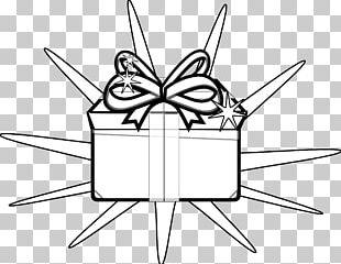Christmas Gift Christmas Gift Black And White PNG