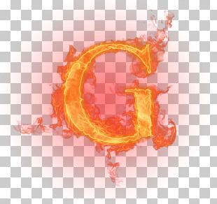 Letter English Alphabet Fire Flame PNG