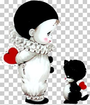 Pierrot Valentine's Day PNG