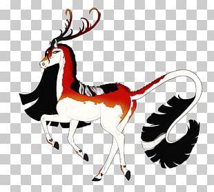 Reindeer Antelope Animal Mammal PNG