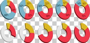Pie Chart Circle Three-dimensional Space PNG