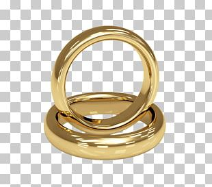 Wedding Ring Gold Jewellery Stock Photography PNG
