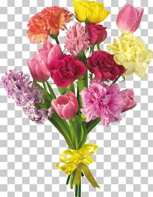 Flower Bouquet Desktop Carnation Tulip PNG