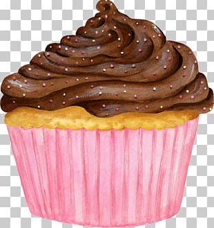 Cupcake Muffin Ganache Chocolate PNG