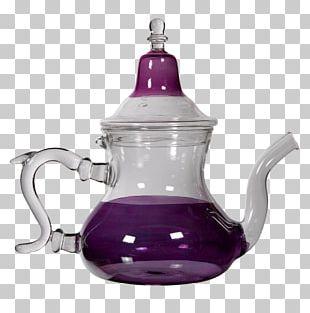 Teapot Maghrebi Mint Tea Moroccan Cuisine Glass PNG