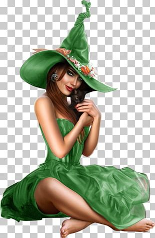 Witchcraft Halloween Woman PNG