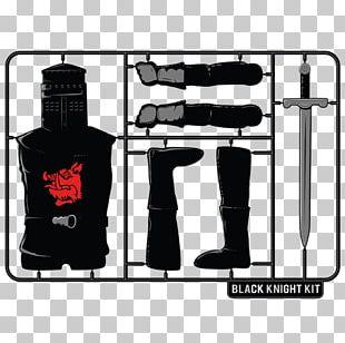 T-shirt Black Knight Monty Python Clothing PNG