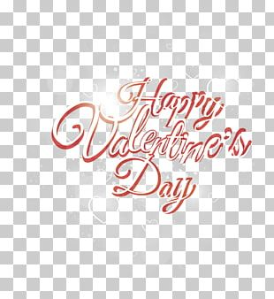 Valentine's Day Font PNG