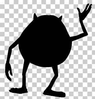 Mike Wazowski Silhouette YouTube Monsters PNG