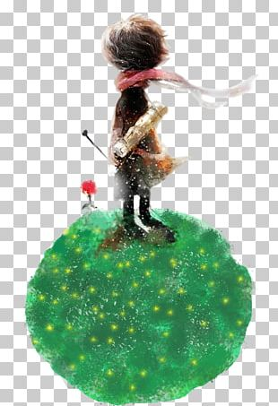 The Little Prince Watercolor Painting Art PNG