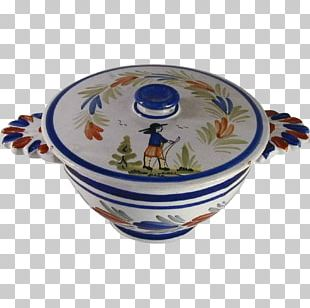 Blue And White Pottery Ceramic Saucer Plate PNG