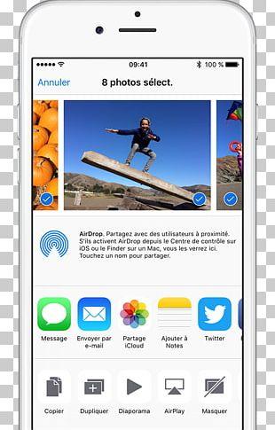 IPhone 6S Apple Photos IPad AirDrop Photograph PNG