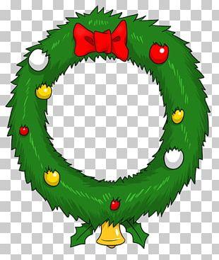 Wreath Christmas Garland Animation PNG