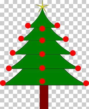 Christmas Tree Fir Holiday PNG